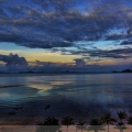 Sunrise view from LabuanBajo