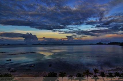 Sunrise view from Labuan Bajo