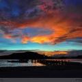 Sunset in SebayurIsland