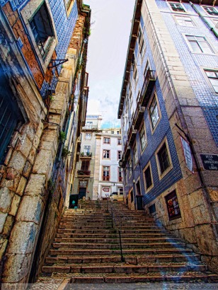 The Maze of Alfama District