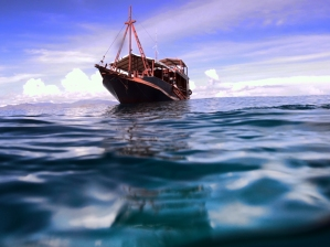 Our diving boat