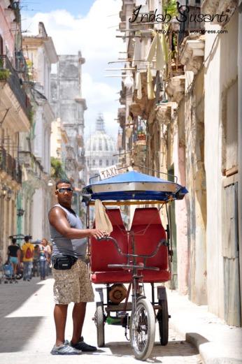 Havana's Bici-Taxis
