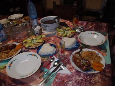 Dinner at Hostal Vista Park
