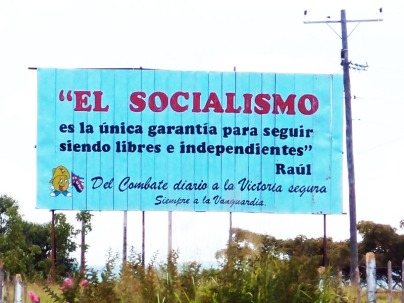 Socialism: the only guarantee to remain free and independent