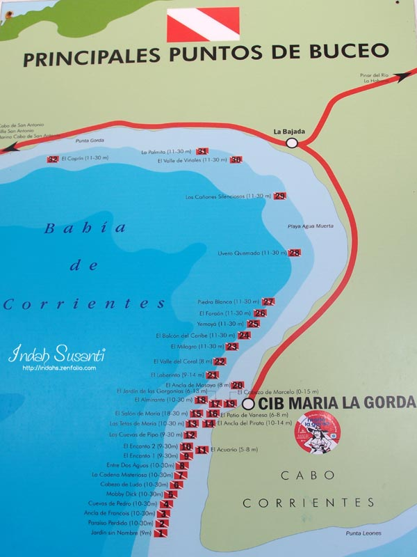 Maria La Gorda Dive Sites