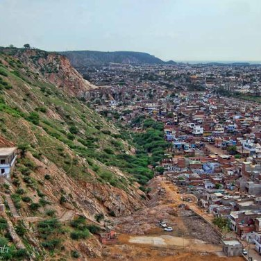 Jaipur view from the hill