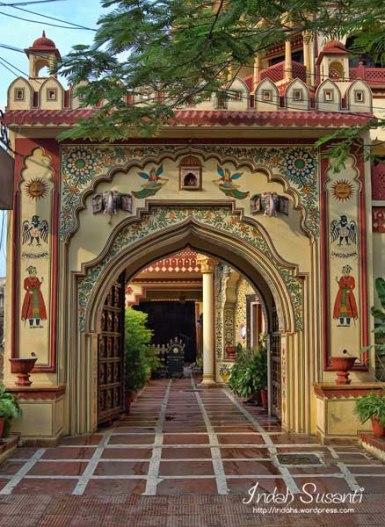 Entrance to Umaid Bhawan