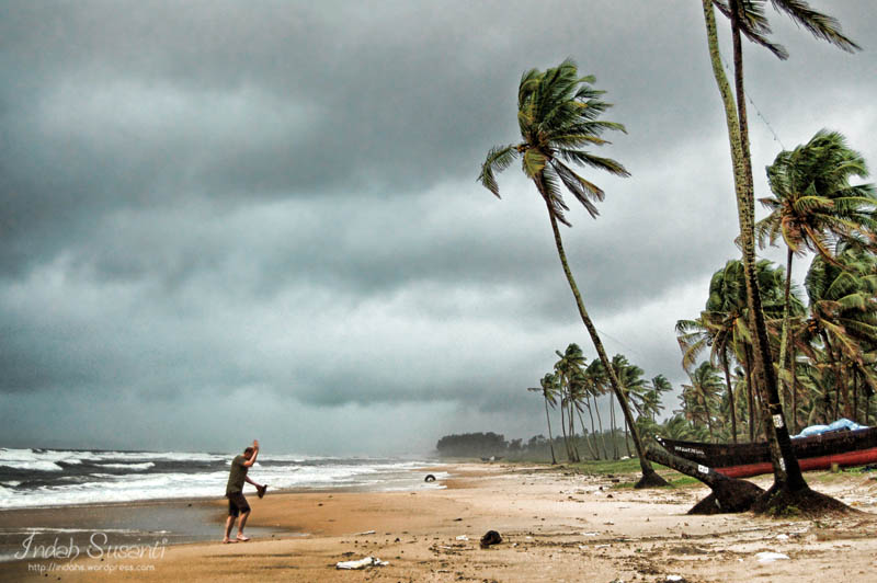 Goa's Stormy Day