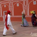 Indians at Jaipur CityPalace