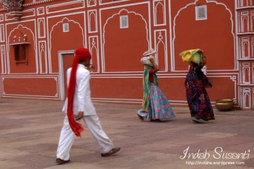 Indians at Jaipur City Palace