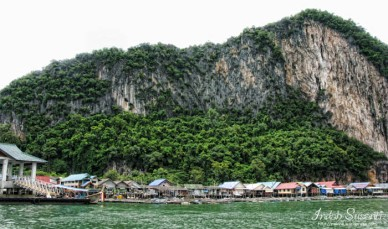 Koh Panyi, floating fishing village