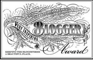 very inspiring blog award