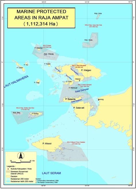 MPA Map Raja Ampat