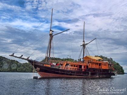 Our liveaboard boat