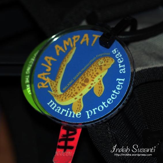 Diving Tag Entrance to Raja Ampat MPA