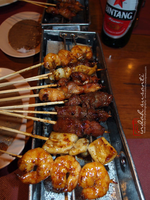 Any type of meat satays