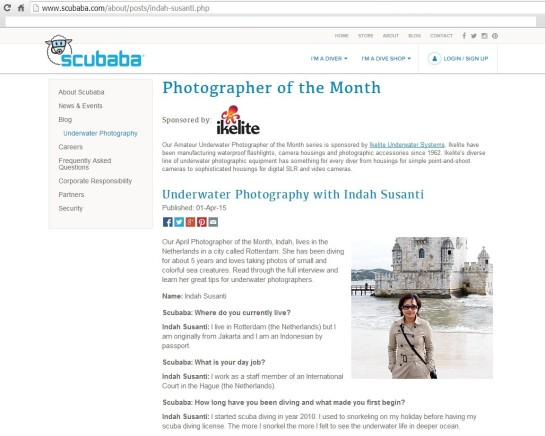 Photographer of the Month - Indah Susanti