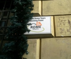 Meeting Point of Around Rome Tours for Vatican Museums and Sistine Chapel
