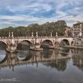 Ponte Sant'Angelo and TiberRiver