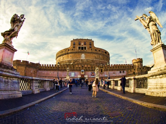 Castle Sant'Angelo and Ponte Sant'Angelo