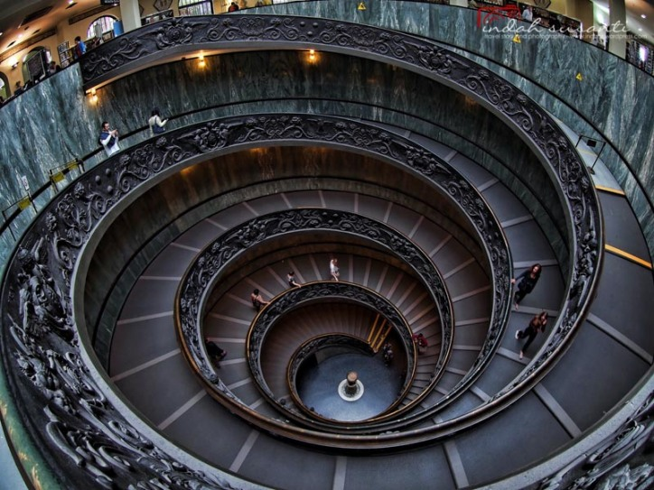 Vatican Museums - Momo Staircase
