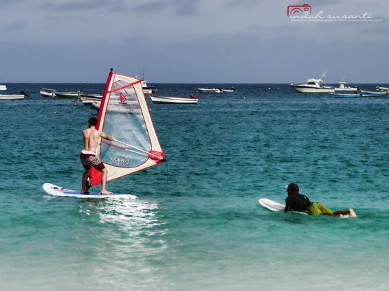 Windsurfing in Santa Maria