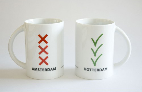 Inspired by the Amsterdam's Flag
