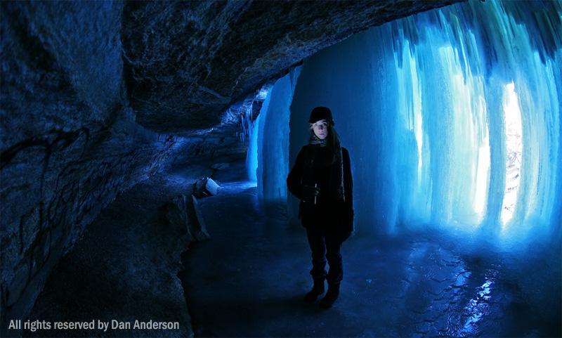 minneapolis ice cave