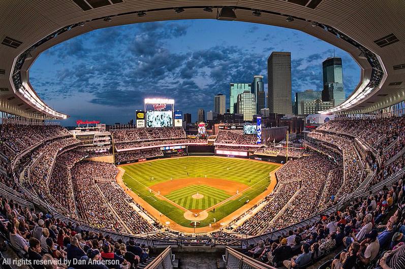 MinnesotaTwins Target Field baseball stadium