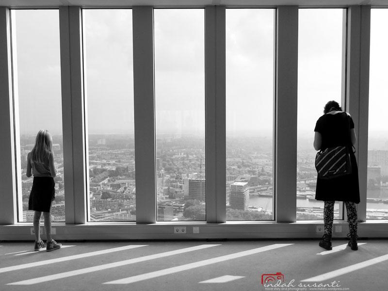 Enjoying Rotterdam from Above