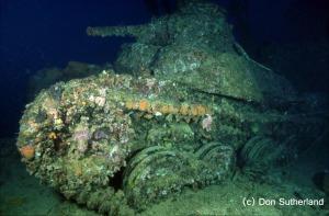 Don Sutherland 01 - tank wreck