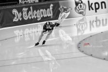 Monochrome Monday: Speed Skating