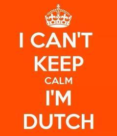 Orange Fever i cant keep calm i am dutch