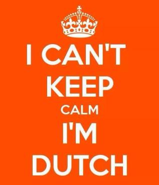 Orange Fever i cant keep calm i am dutch