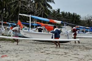 Balinese Jukung boat