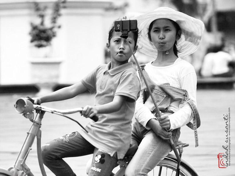 Wefie in Jakarta