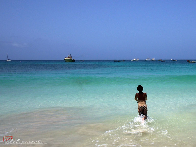 Running To The Sea - Cape Verde