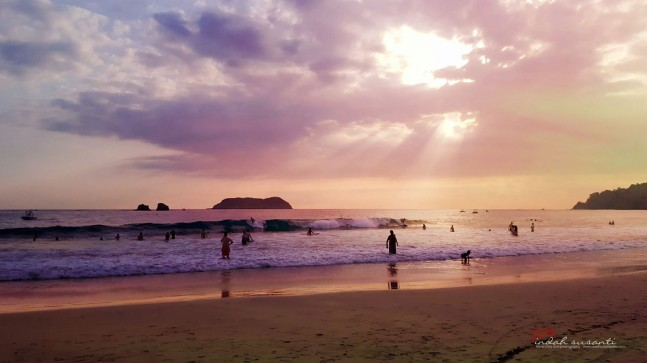 Sunset in Manuel Antonio
