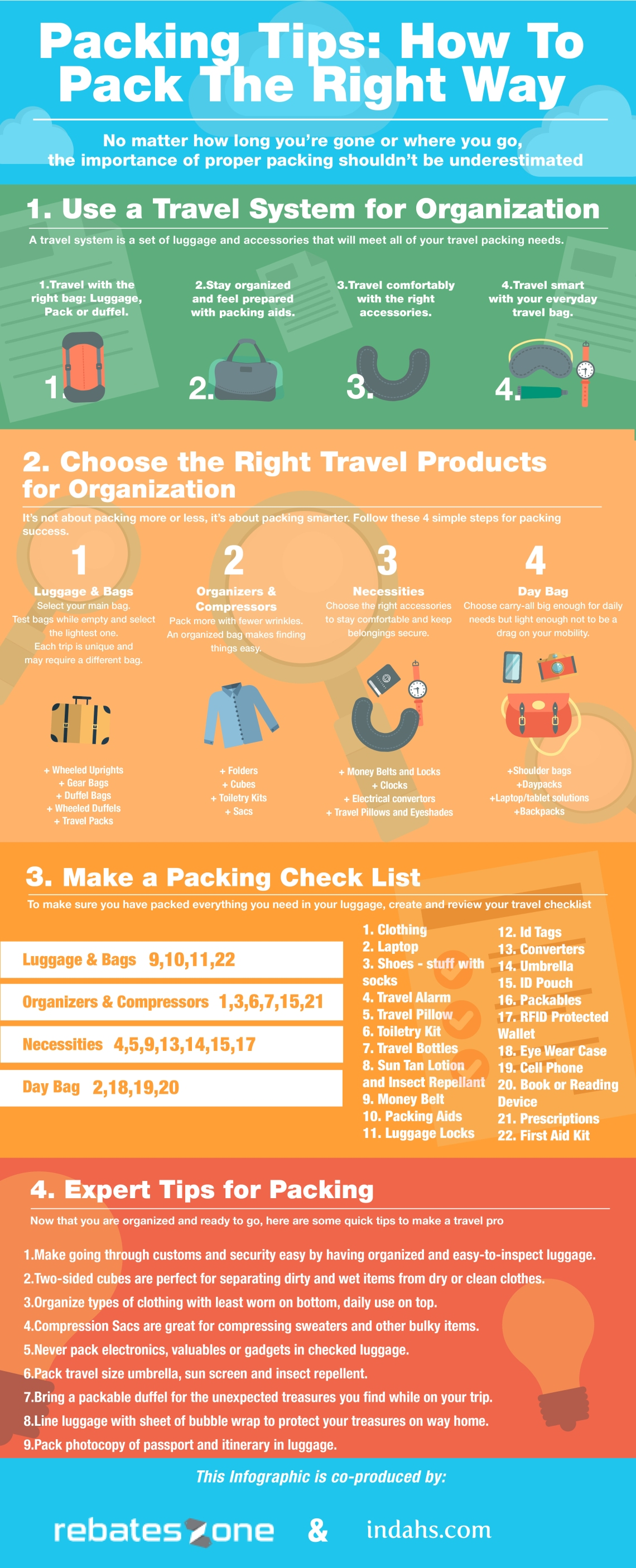 packing tips rebateszone indahs