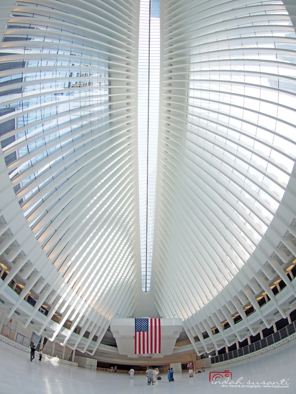 The Oculus NYC by Calatrava