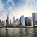 Manhattan view from theferry