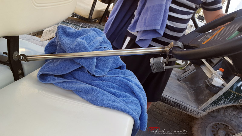 golf cart Belize