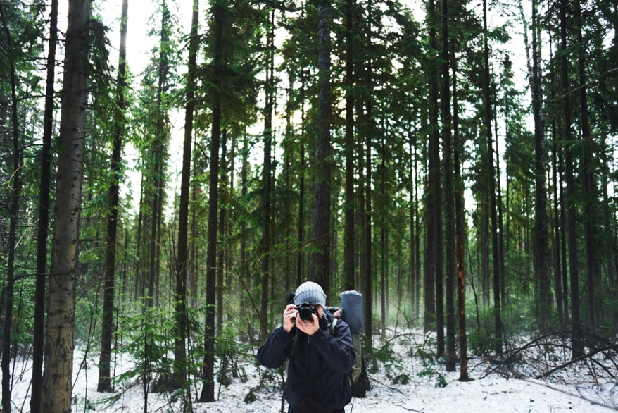 Backpacker Photography