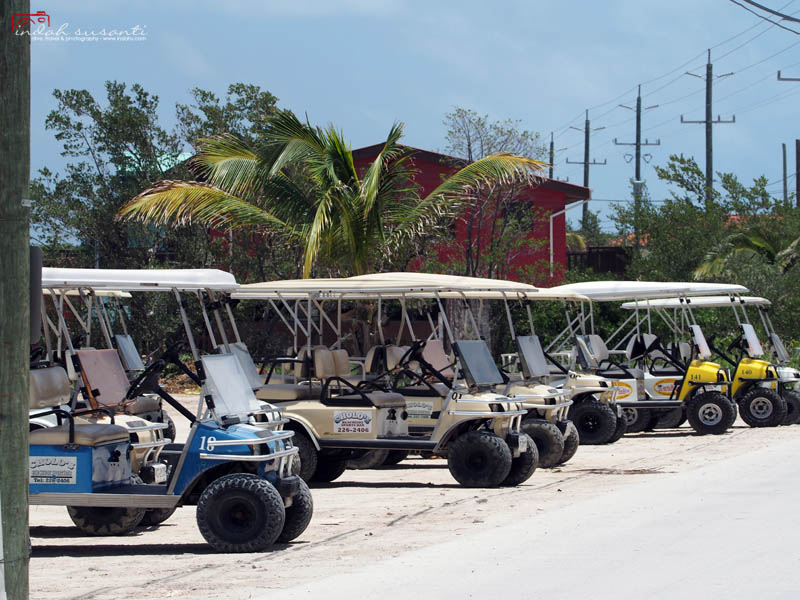 golf cart Belize