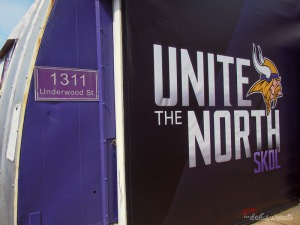 Minnesota-based Football Team, Vikings, also has its stand at the Fair