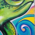 Murals in Tulum –Mexico