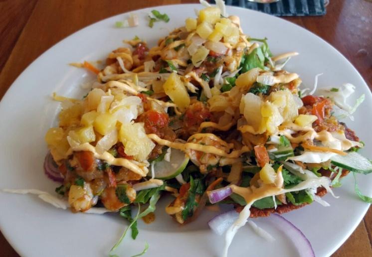 Salad Tostadas