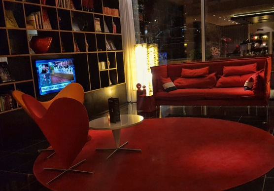 Living Room of CitizenM Hotel Amsterdam