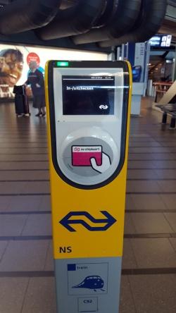 OV-chipkaart scanner