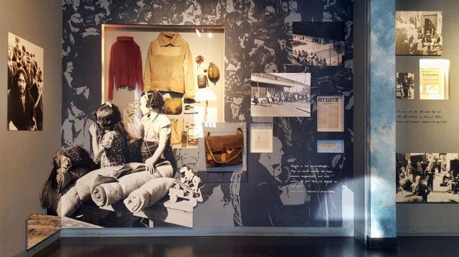 Displays at Hollandse Schouwburg